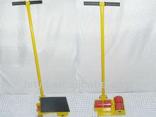 3t 360 gradi di rotazione trolley carico