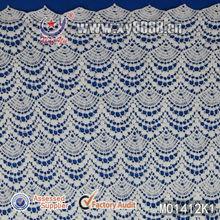 2014 Scalloped Edge Apparel Garment Accessories M01412K Cotton Lace Material