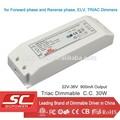 Ki-36900-td dimmerabile triac corrente costante 18-36v 900ma ha condotto driver( alimentazione ca)