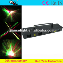 Newest!!! Stage Light 4 Color 4 Head Laser