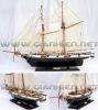 HARVEY WOODEN MODEL SHIP - HISTORIC SHIPS