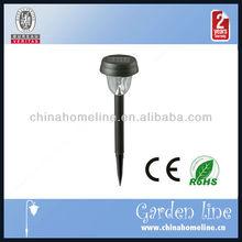 plastic led solar garden light LIG00006