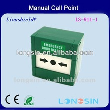 HOT SALE manual push button emergency with break glass LS-911 for alarm security