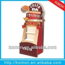 komori 2013 new product recycled cardboard display stand