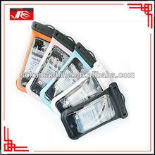 Transparent pvc waterproof general smart phone case for diving equipment