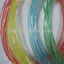 7mm diameter double color TPU coated plastic rope