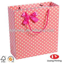Pink Fashion Paper Gift Bag