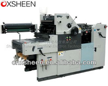 XH47S single color offset press with numbering ,small offset printing machine,Printing machine,used single color offset print