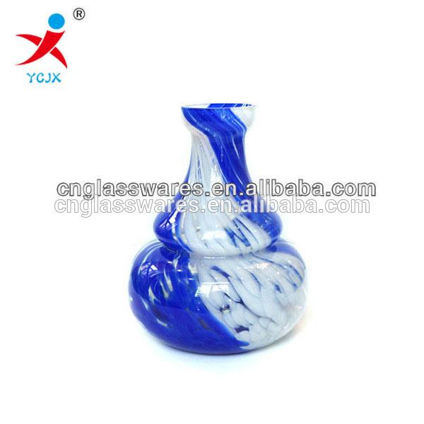 WHOLESALE BLUE GLASS VASE