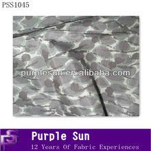 Digital print camouflage stiff silk fabric