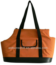 Orange small pet tote