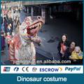 Jldc- 0780 drôle. parc d'attractions noms costume de dinosaure