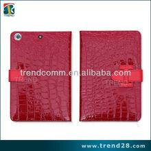 Luxury leather case for ipad mini