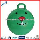 2013 cheap Anti burst PVC Gym ball with handle