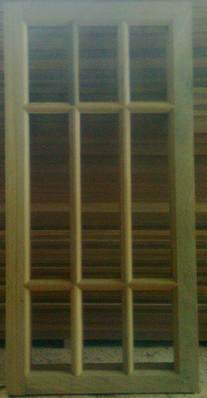 tingkap dan jendela kayu