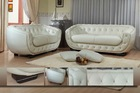 Casa Italy Leather Sofa F 3257 Swarovski Crystal, Living Room Sofa Set, Furniture Sofa, Modern Sofa