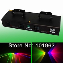 New 2013 dj equipment 30mW Green + 100mW Red laser + 130mW Yellow laser + 100mW Violet holiday laser for party show