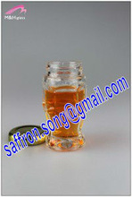 40ml Small glass sauce jar with cap