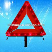 Typical aluminium warning sign