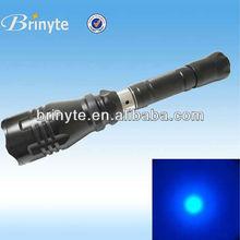 Waterproof Portable Blue Light Flashlight Fishing Equipment