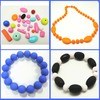 Multishaped Food Grade Silicone Teething Beads For Jewelry