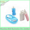 For iphone 5 3 in 1 charger with cheap price high quality