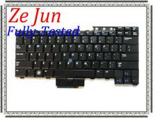Brand original keyboards laptop Keyboard US Black stock with fOriginal Laptop Keyboard for E6410 E6510 WX4JF, 0WX4JF, NSK-DB301.