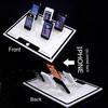 Counter top acrylic cellphone display
