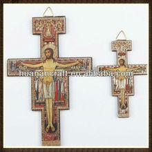 religious wooden godfather photo frame