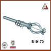 B19170 flower curtain rod finial, decorative curtain accessories,