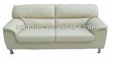 Modern European Ivory 1+2+3 leather sofa set