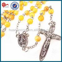 rhinestone rosary chain rosary necklace