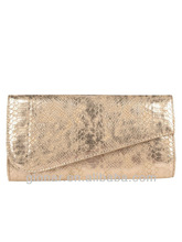 2014 Fashion lightness designer vintage evening bag &light gold clutch evening bag made in Italy