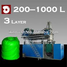 1000 L 3 layer blow moulding machine