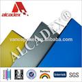 De aluminio de revestimiento de instalación del panel / compuesto de aluminio de paneles