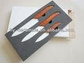 punho de madeira super cerâmica faca com punho de madeira