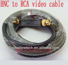 CCTV BNC video cable BNC/RCA