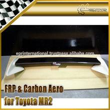 For TOYOTA MR2 SW20 Rev 5 TRD Carbon Fiber Rear Spoiler
