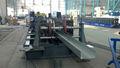flexível de alumínio e inox cabo máquina rolo bandeja formando com o controle do plc