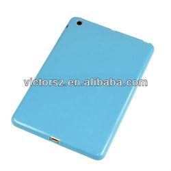 For iPad Mini Blue TPU Back Cover, For Apple iPad Mini Laptop Case