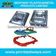 2013 professional custom high precision plastic injection baby walker mould designer and manufacturer