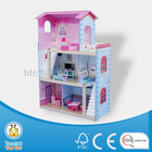 HT-DH002 MDF wooden miniature doll house furniture