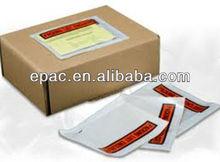 Packing List Envelope Document Enclosed