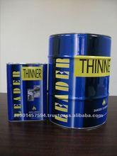 Pure Solvent Clear Liquid Polyurethane PU Coating Thinner