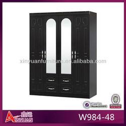 W984-48 Popular classic locker wooden closet storage