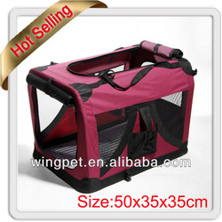 Portable Pet Carrier Cage Home,Foldable Dog Carrier Cage Crate