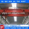 Gear Motor double girder ovrhead crane price and design drawing