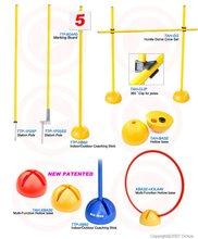 coaching pole/Jumping Hurdle,/Slalom Pole Stick, Clip/Dome Cone