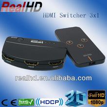 8 port HDMI Switch / HDMI Switch 3x1 rca