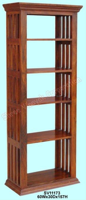 La librer a de madera estante para libros mobiliario de - Mobiliario para libreria ...